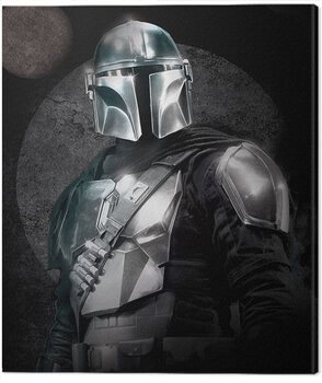 Leinwand Poster Star Wars: The Mandalorian - Circles