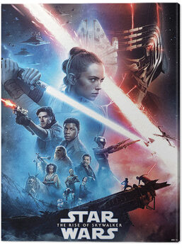 Leinwand Poster Star Wars: The Rise of Skywalker - Saga