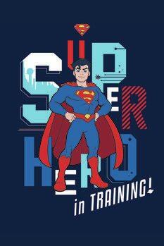 Leinwand Poster Superman - In training