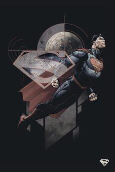 Leinwand Poster Superman - Stellar