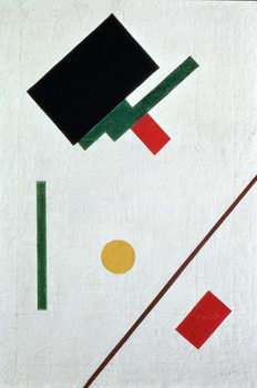 Leinwand Poster Suprematist Composition, 1915