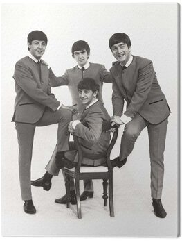 Leinwand Poster The Beatles - Chair