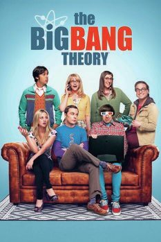 Leinwand Poster The Big Bang Theory - Mannschaft