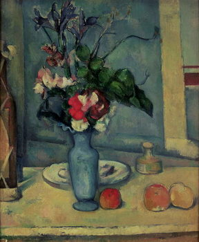 Leinwand Poster The Blue Vase, 1889-90