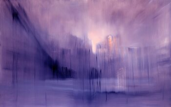 Leinwand Poster the foggy dew