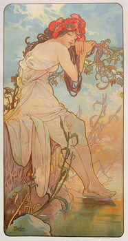 Leinwand Poster The Seasons: Summer