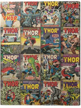 Leinwand Poster Thor - Covers