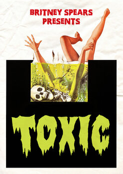 Leinwand Poster toxic