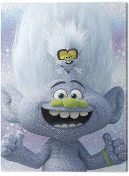 Leinwand Poster Trolls World Tour - Guy Diamond and Tiny