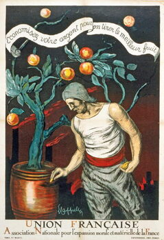 Leinwand Poster Union Française Association Nationale pour l'expansion morale et matérielle de la France