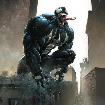 Leinwand Poster Venom - Stalking Its Prey