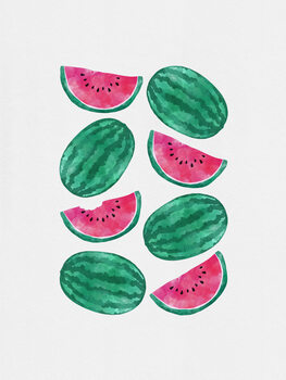 Leinwand Poster Watermelon Crowd