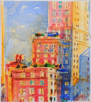 Leinwand Poster Windows in the Upper East Side