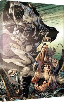 Leinwand Poster Batman - Interrogate