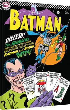 Leinwand Poster Batman - The Riddlers