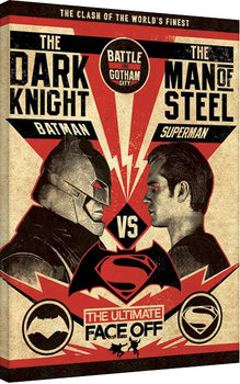 Leinwand Poster Batman V Superman - Showdown