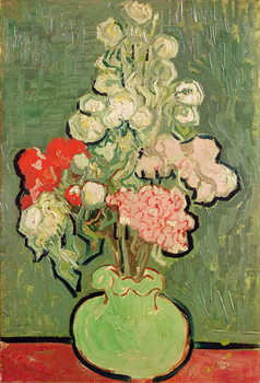 Leinwand Poster Bouquet of flowers, 1890
