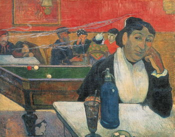 Leinwand Poster  Cafe at Arles, 1888