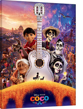 Leinwand Poster  Coco - Guitar