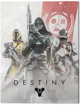 Leinwand Poster Destiny - Fireteam