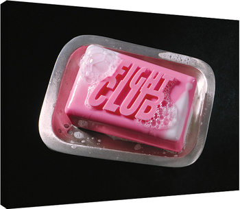 Leinwand Poster  Fight Club - Soap