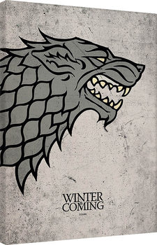 Leinwand Poster  Game of Thrones - Stark