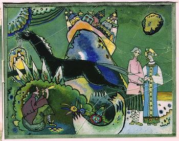 Leinwand Poster Golden Cloud, 1918