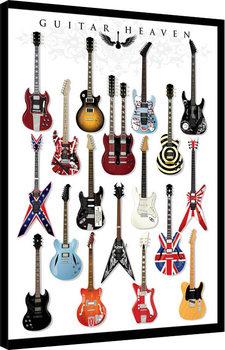 Leinwand Poster Guitar Heaven