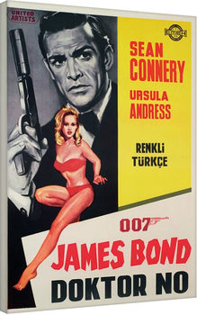 Leinwand Poster James Bond - Doktor No