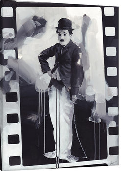 Leinwand Poster  James Paterson - Chaplin