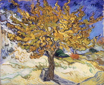 Leinwand Poster Mulberry Tree, 1889