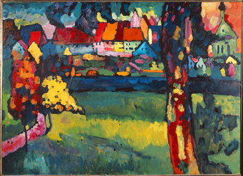 Leinwand Poster Murnau, 1909