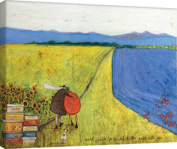 Leinwand Poster  Sam Toft - I Would Walk To The End Of The World With You