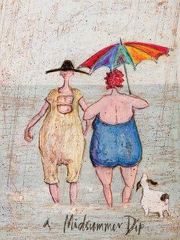 Leinwand Poster  Sam Toft - Midsummer Dip