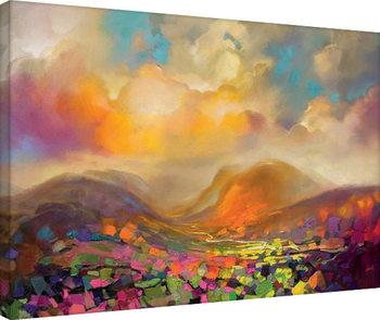 Leinwand Poster Scott Naismith - Nevis Range Colour