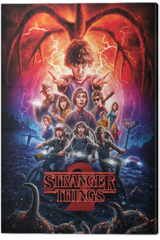 Leinwand Poster  Stranger Things - One Sheet Series 2