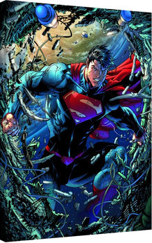Leinwand Poster Superman - Unchained