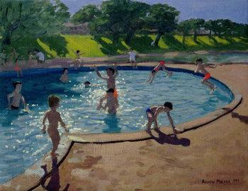 Leinwand Poster Swimming Pool, 1999