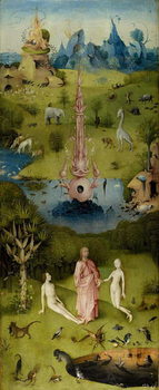 Leinwand Poster  The Garden of Earthly Delights, 1490-1500