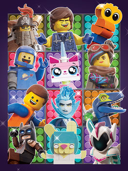 Leinwand Poster  The Lego Movie 2 - Some Assembly Required