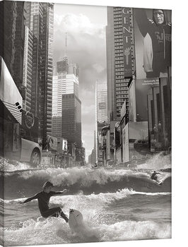 Leinwand Poster  Thomas Barbey - Swell Time In Town