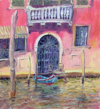 Leinwand Poster Venetian Balcony, 2000