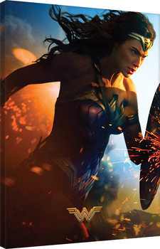 Leinwand Poster Wonder Woman - Courage