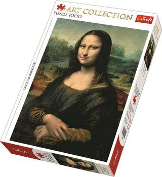 Puslespill Leonardo da Vinci - Mona Lisa
