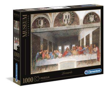 Puzzle Leonardo da Vinci - Poslední Večeře