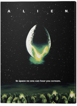 Lerretsbilde Alien - One Sheet