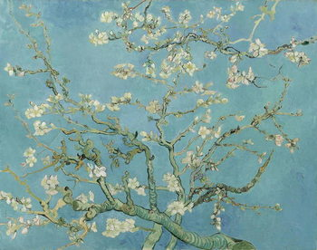 Lerretsbilde Almond Blossom, 1890