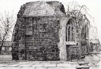 Lerretsbilde Blackfriers Chapel St Andrews, 2007,