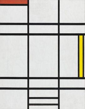 Lerretsbilde Composition in White