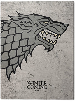 Lerretsbilde Game Of Thrones - Stark